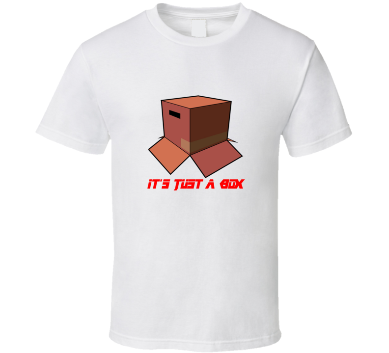It's Just A Box MGS Cool Funny Video Game T Shirt !