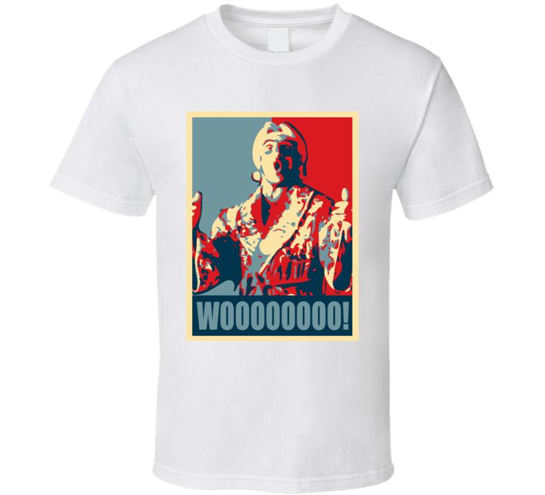 Ric Flair Nature Boy Whoooooooo! T Shirt