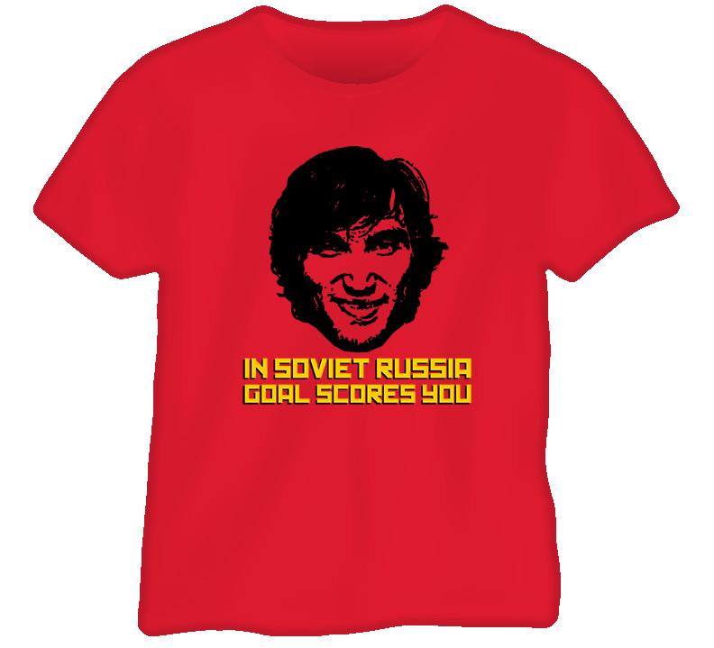 Ovechkin Goal Scores You Hockey T Shirt