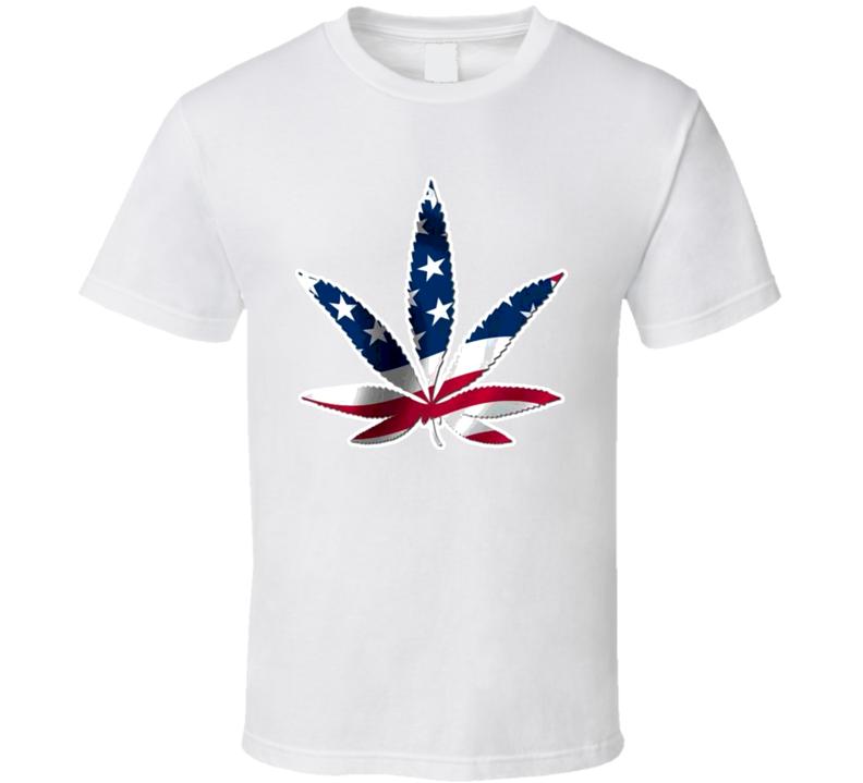 American Weed Drug T Shirt