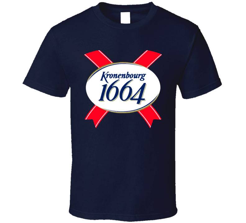 Kronenbourg French France Beer T Shirt
