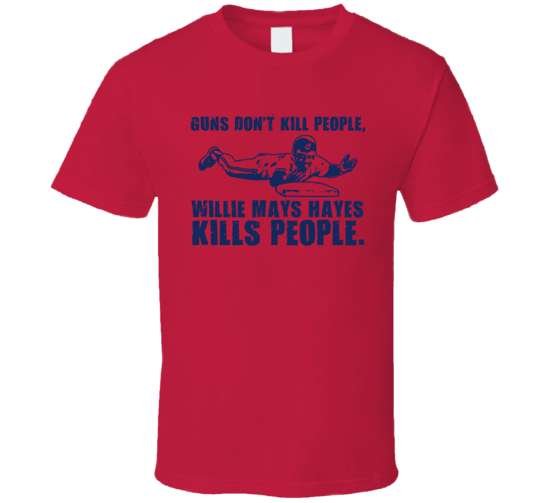 Cleveland Willie Mays Hayes Baseball T Shirt