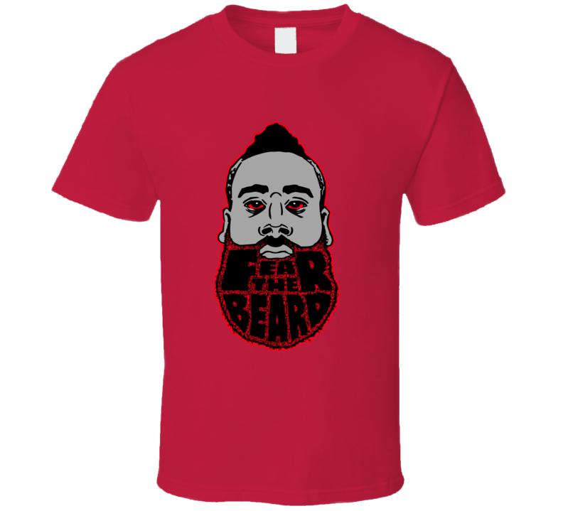 Fear the Beard James Harden Basketball T shirt
