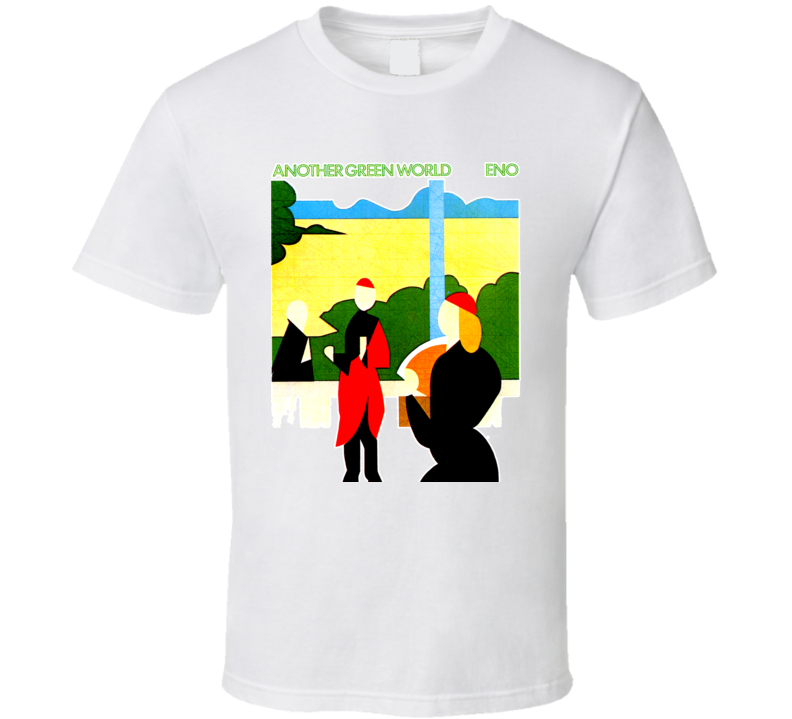 Another Green World Brian Eno Album 1975 T Shirt