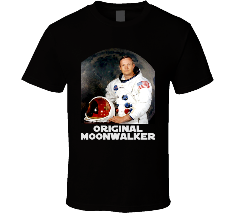 Neil Armstrong Astronaut First Man On Moon Planet T Shirt