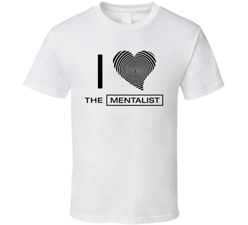 I Love Heart The Mentalist T Shirt