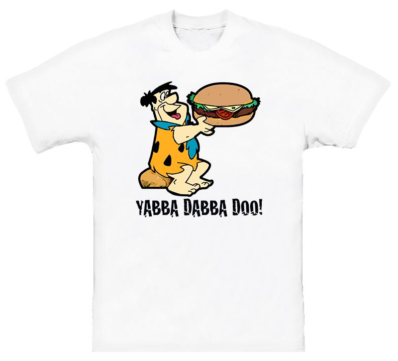 Flintstones Fred Cartoon Funny T Shirt