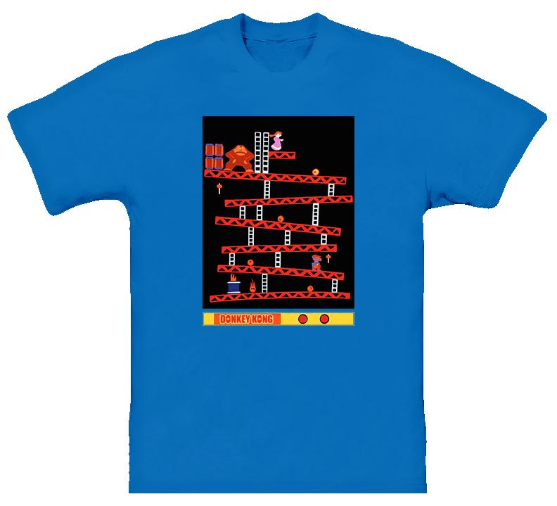 Donkey Kong Retro Video Game Classic Funny T Shirt