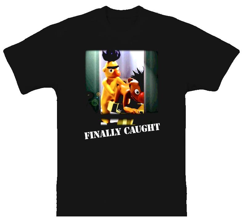 Ernie And Bert Doing The Wild Thing T Shirt