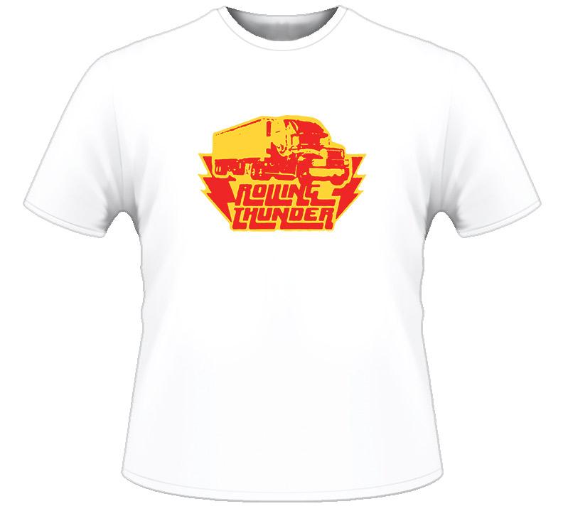 Rolling Thunder Trucking Vintage T Shirt