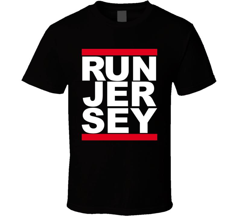 Run New Jersey DMC Rap T Shirt