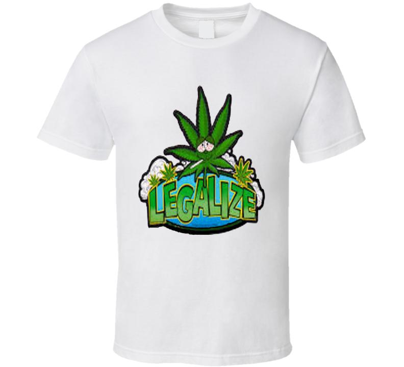 Legalize Marijuana Weed 420 Stoner T Shirt