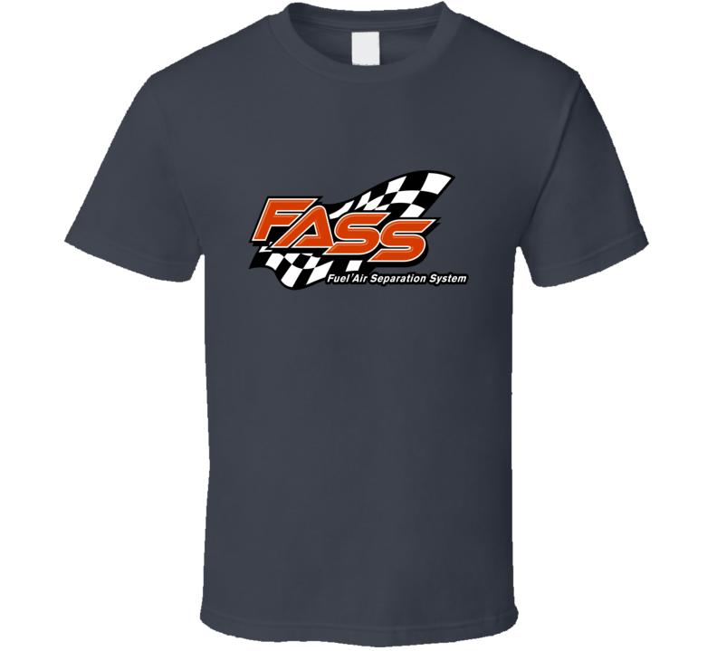 Fass Fuel Air Sepration High Performance Muscle Car Logo T Shirt