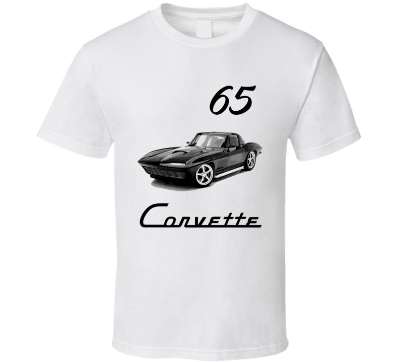 65 Chverolet Corvette Classic Retro T Shirt