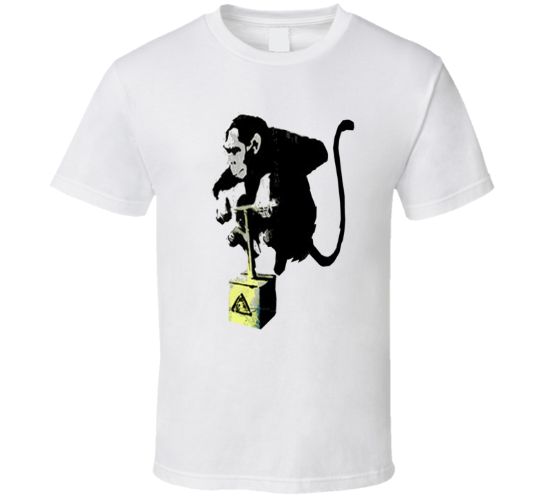 Jessie Eisenberg Lex Luthor Trending Monkey With Explosive From Superman Vs Batman T Shirt.png