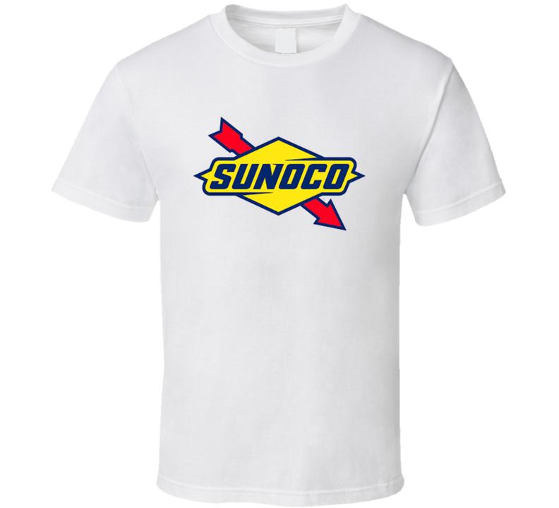 Sunoco Gasoline Gas Station Vintage Fuel Petro Classic Logo T Shirt