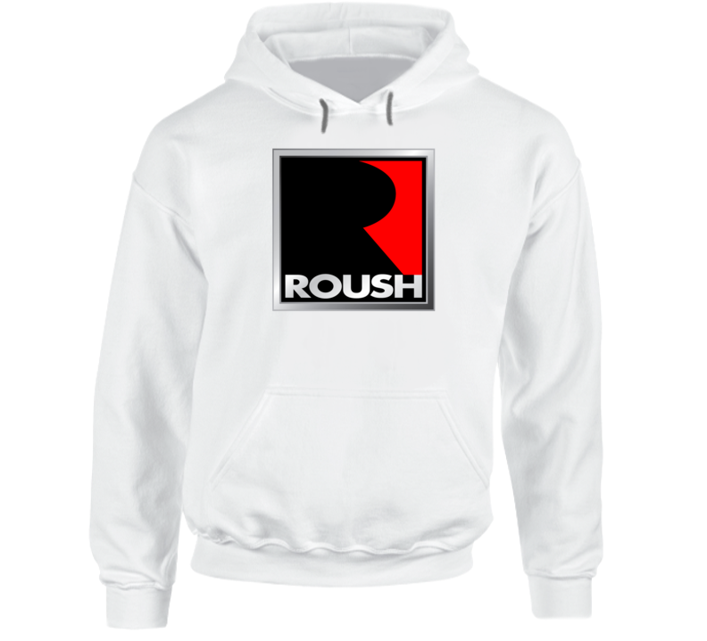 Roush Racing Ford Mustang Performance Car Hooded Pullover Hoodie