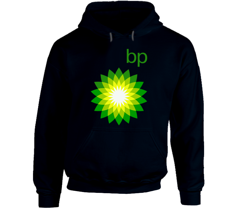 Bp Gasoline Gas Station Vintage Fuel Petro Classic Logo Hooded Pullover Hoodie