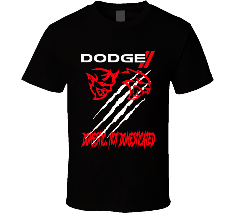 Dodge Demon 2017 Hellcat Charger Chllenger Claw Marks Domestic Not Domesticated Logo Hooded Pullover