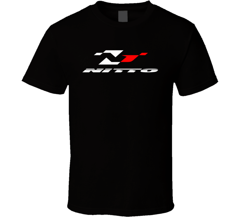 Nitto Tires Racing Wheels Street Track Logo T Shirt