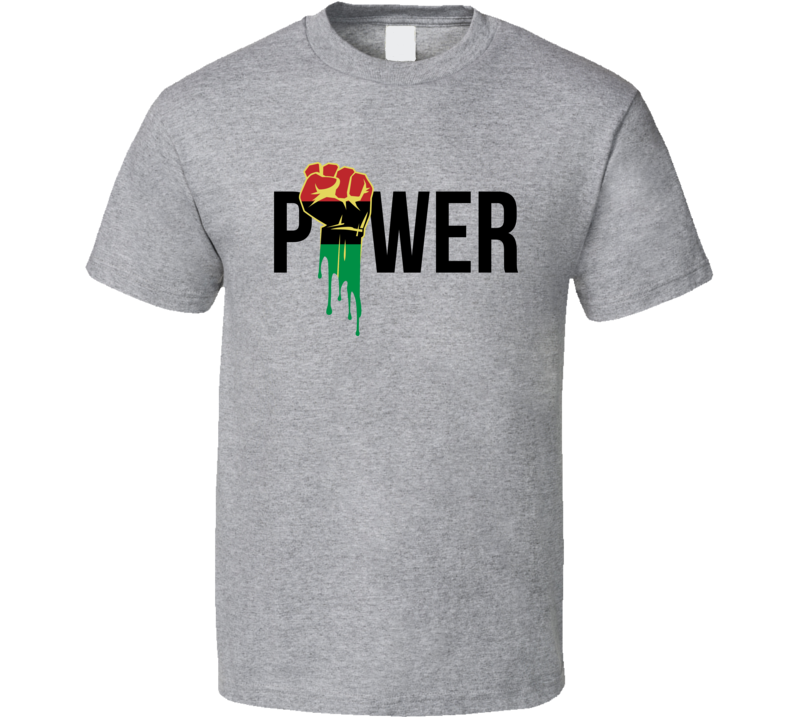 Black Power Fist Africa Colors Empowerment Classic 2 T Shirt