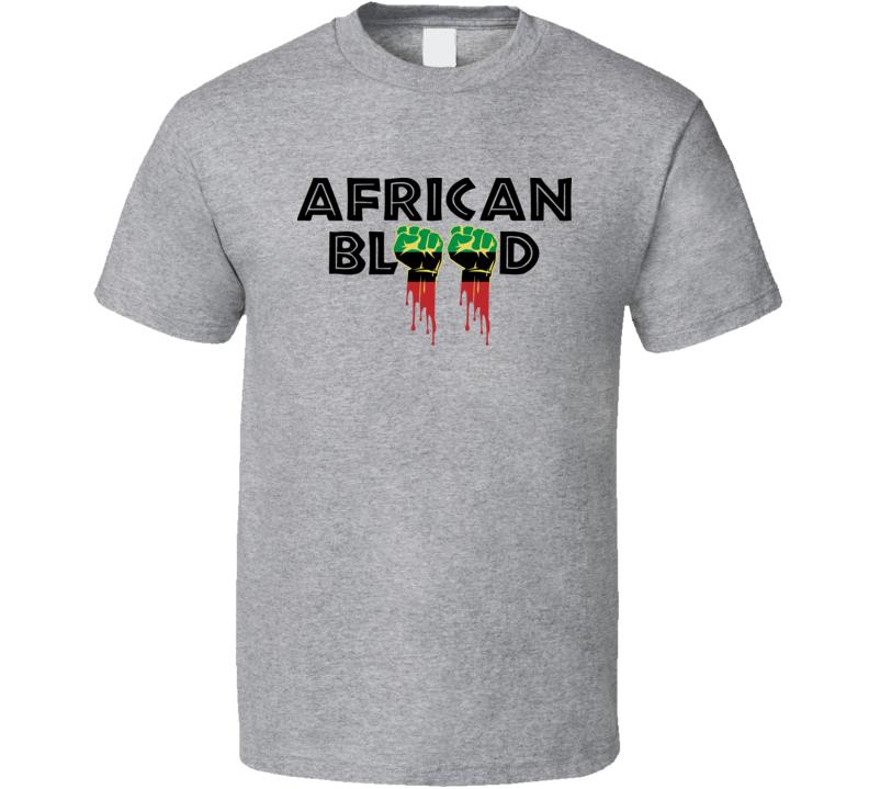 African Blood Africa Roots Origin Black Pride Classic T Shirt