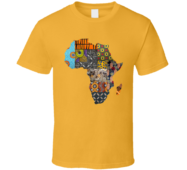 Africa Quilt Patterns Heritage Black History Month Gift T Shirt