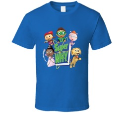 Super Why 4 Group T Shirt