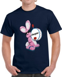 Energizer Bunny Battery Logo  T Shirt