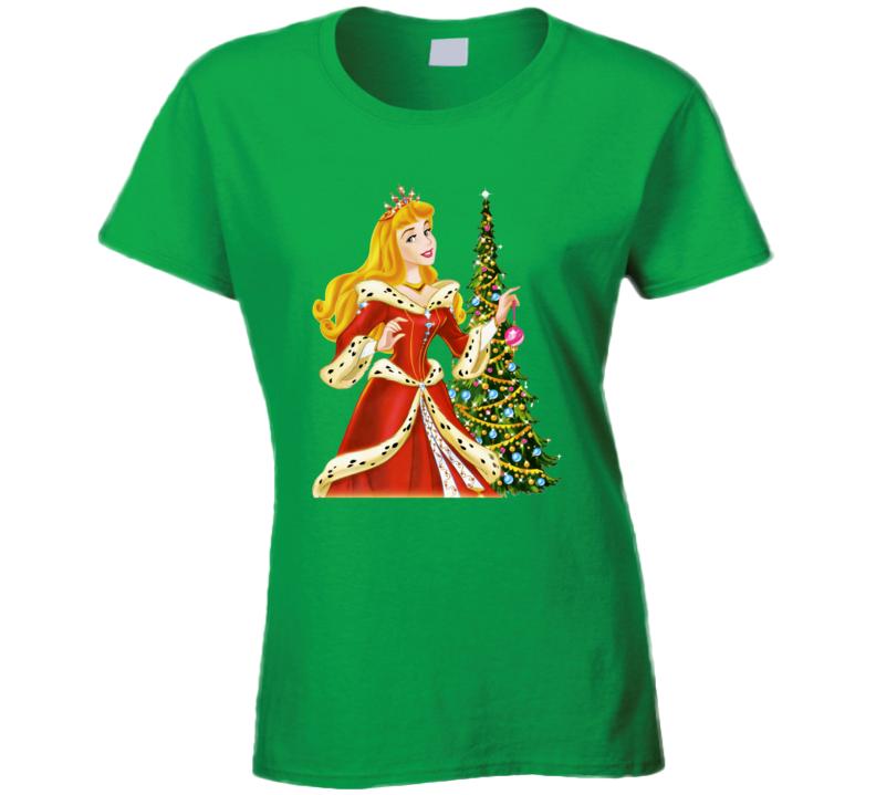 Princess Barbie Christmas  T Shirt