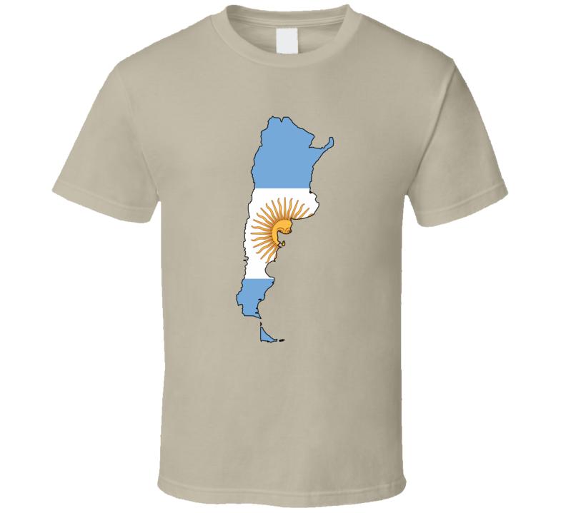 Argentina Mapa de argentina Sol T Shirt