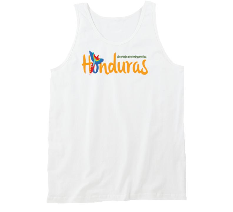 Honduras corazon de centro america Honduras Guara Tanktop