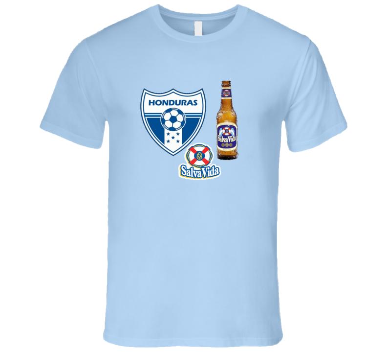 Honduras Salva Vida Cerveza  T Shirt