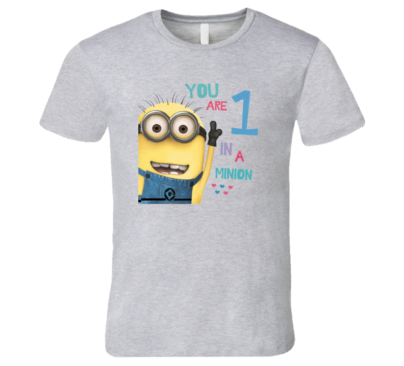 You are number one in a million Minions  T Shirt