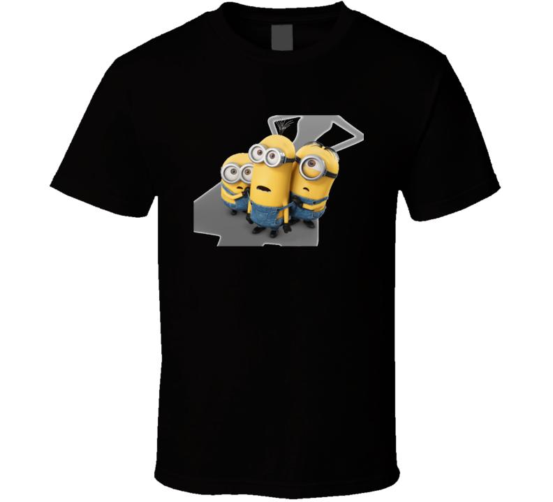 Minion scare Minion asustados  T Shirt
