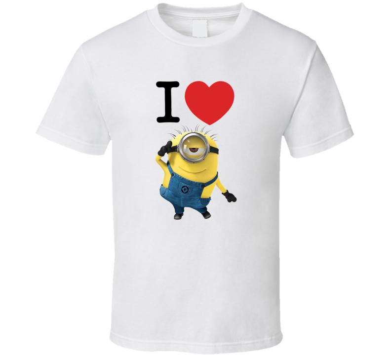 Love Minion  T Shirt
