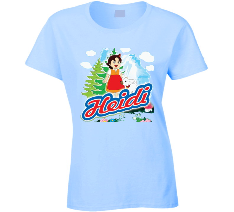 Heidi in the mountain T Shirt