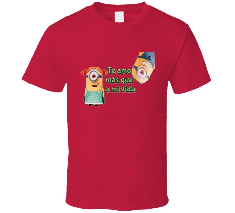 Minion San valentin T Shirt