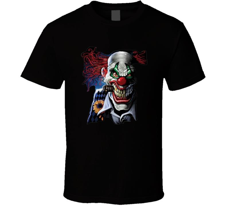 Horror clown Scary clown Clown  T Shirt