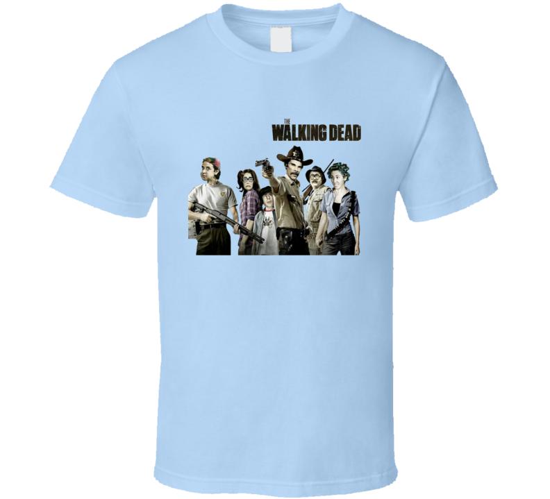 The walking dead Chespirito El chavo del ocho La vecindad del chavo  T Shirt