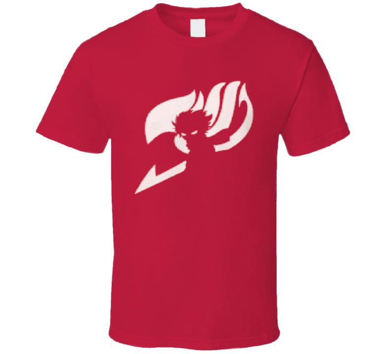 Fairy Tail Symbol Natsu Dragneel Japanese Anime  T Shirt