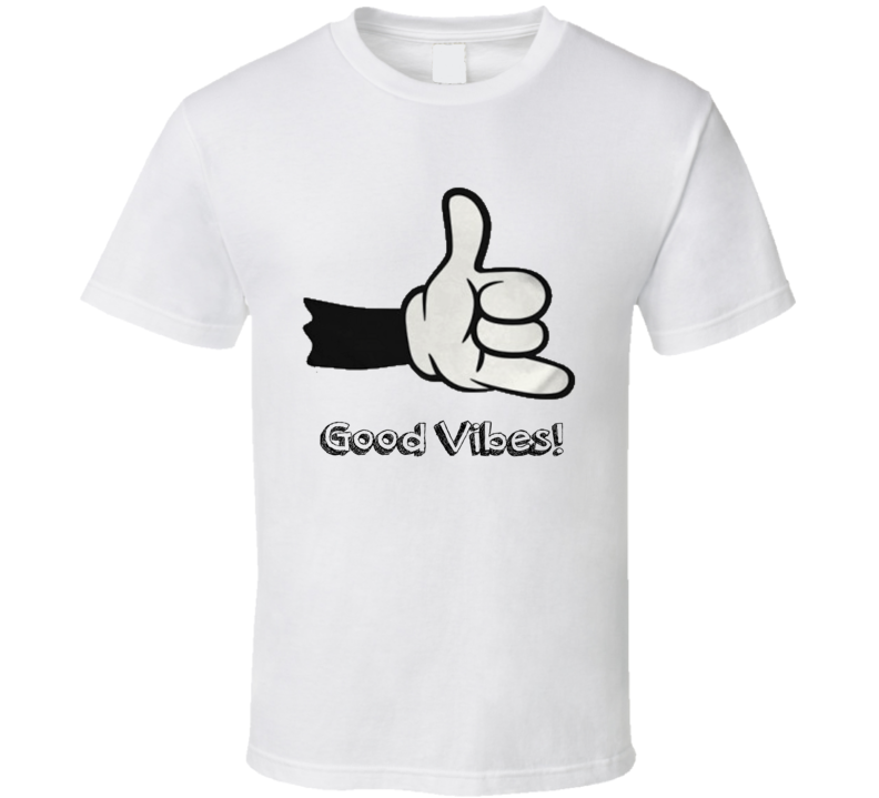 Good vibes Buena vibra Hand Thumb up  T Shirt