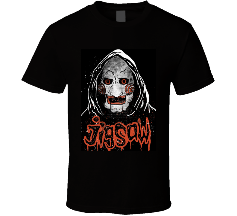 Jigsaw Saw the Movie   T Shirt