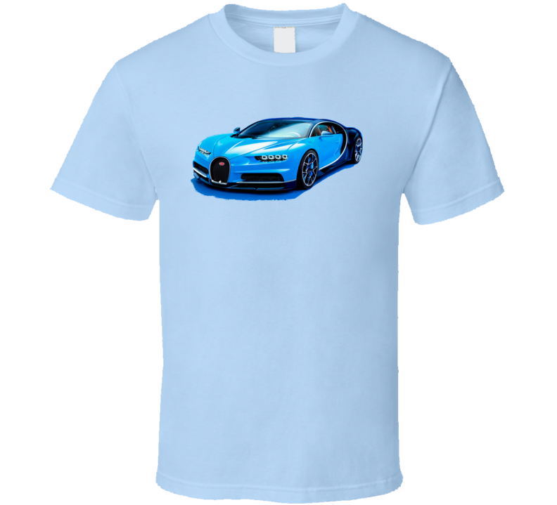 Car Cars Bugatti Chiron Automobile T Shirt