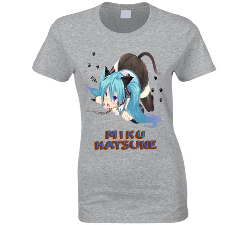 Miku Hatsune Japanese Anime T Shirt