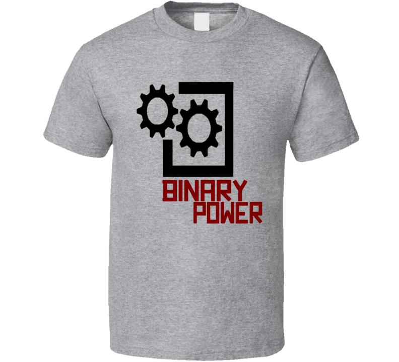 Binary Power Gear T Shirt
