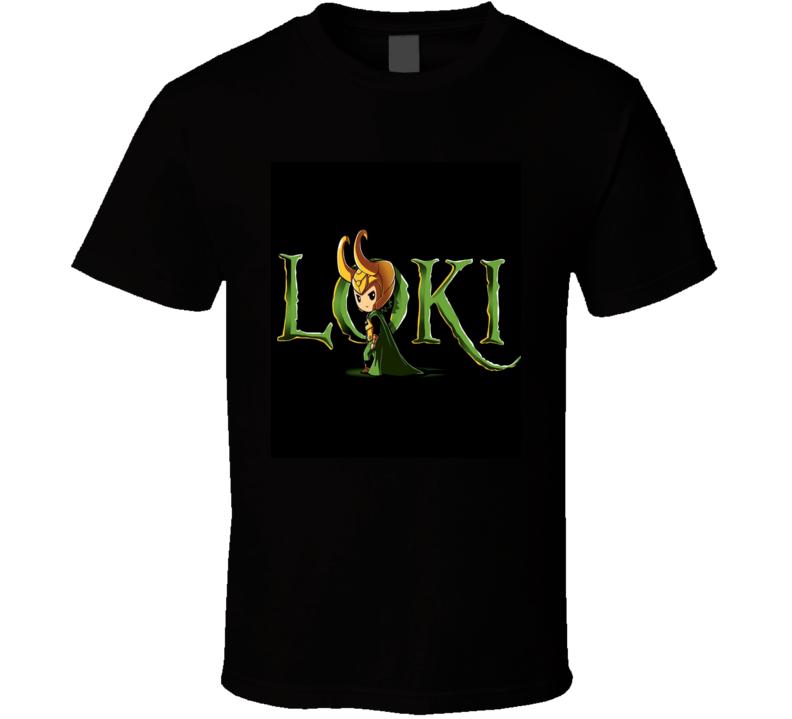 Loki Marvel Movies T Shirt