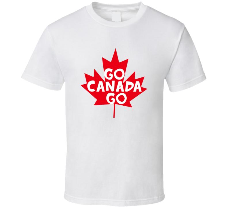 Go Canada Go Country Canada T Shirt