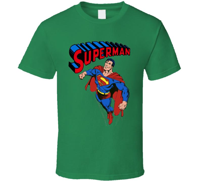 Superman Cartoon  T Shirt