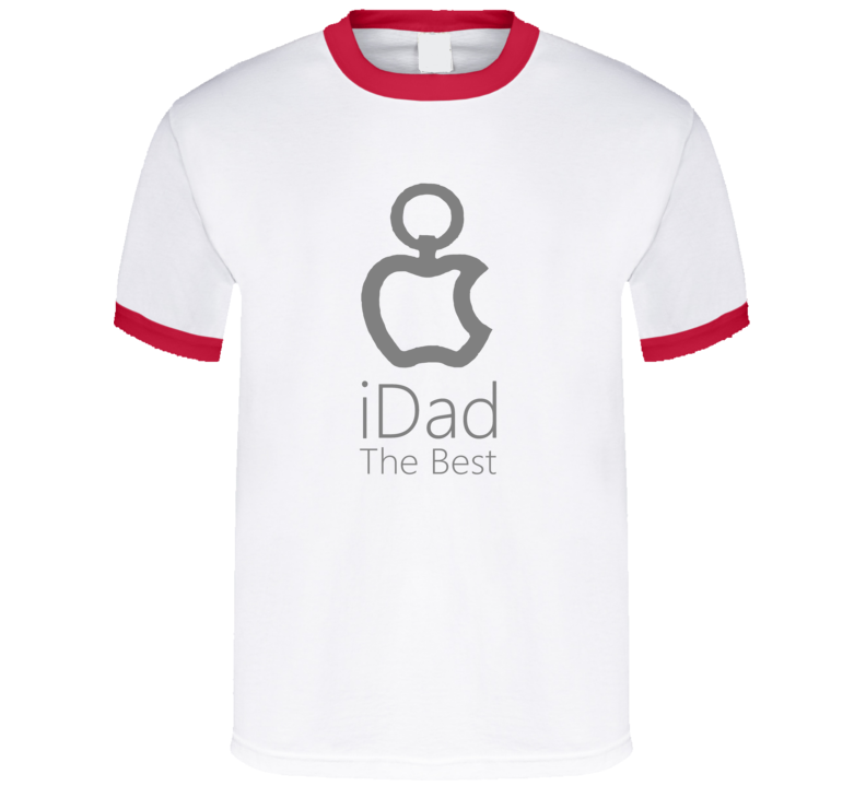 I Dad The Best Papà Padre Father Day  T Shirt